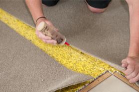 Testing carpet